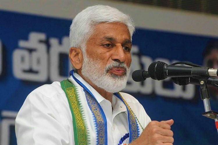 Andhra Pradesh may soon have 25 districts YSRCP MP Vijayasai Reddy