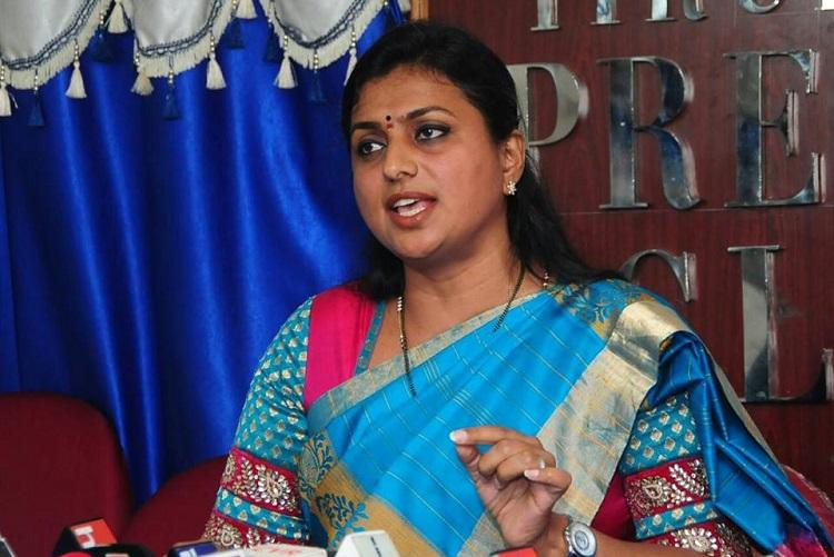 Jagan did not say that he will kill Naidu Roja defends party chiefs statement