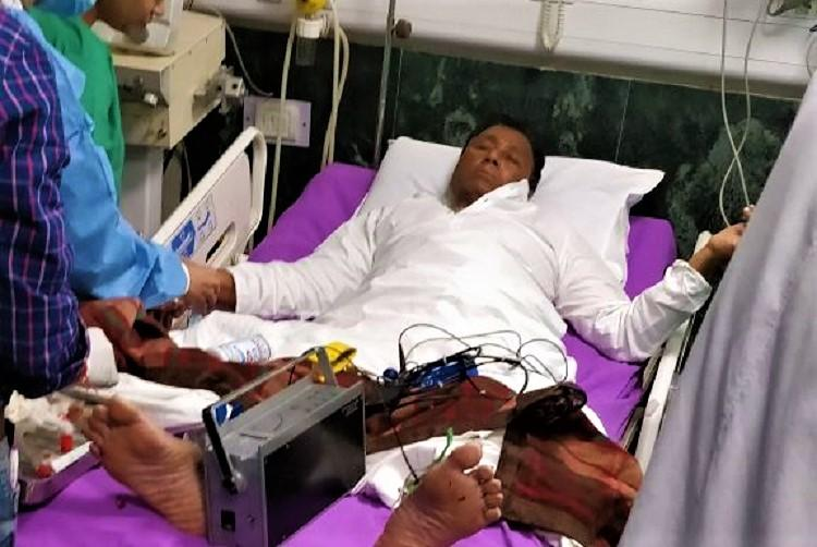 Andhra special status YSRCP MP shifted to hospital as party continues hunger strike