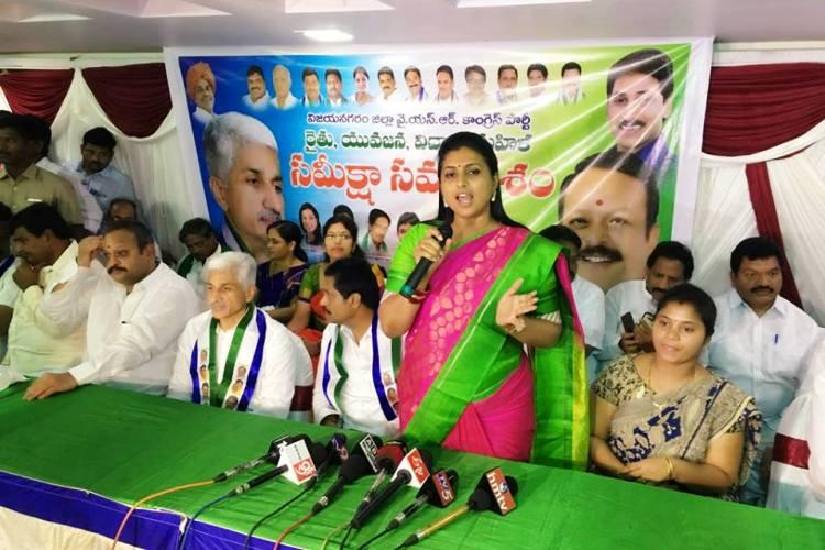 Andhra assembly panel calls for suspension of YSRCP MLA Roja Speaker to decide