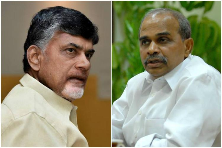 Chandrababu Naidus shocking claim YSR supported smuggler who tried to murder me