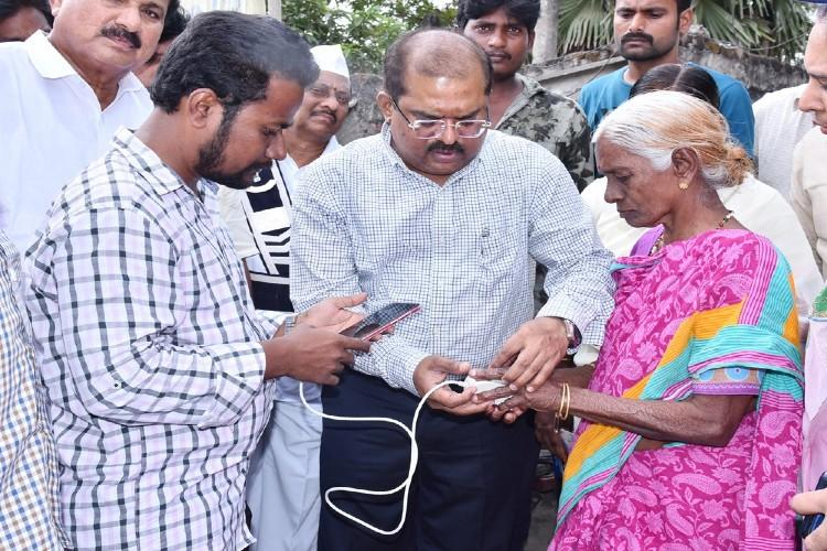 YSRCP government door delivers pension scheme through village volunteers