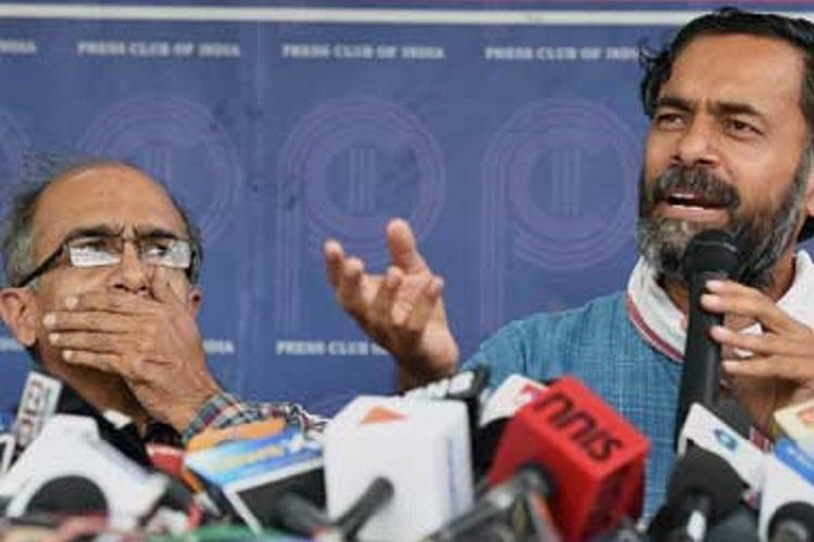 Swaraj Abhiyan launches its political wing Swaraj India