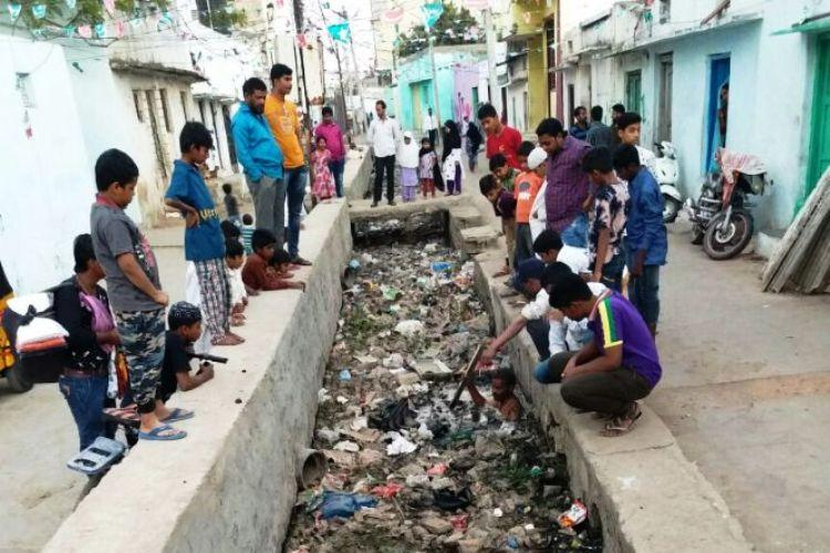 Two-year-olds death in Old City sewer in Hyderabad SHRC sends notice to GHMC