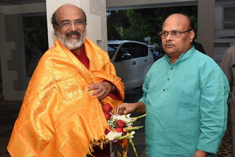 South states could lose Rs 8K crore due to 15th FC Thomas Isaac meets AP FM