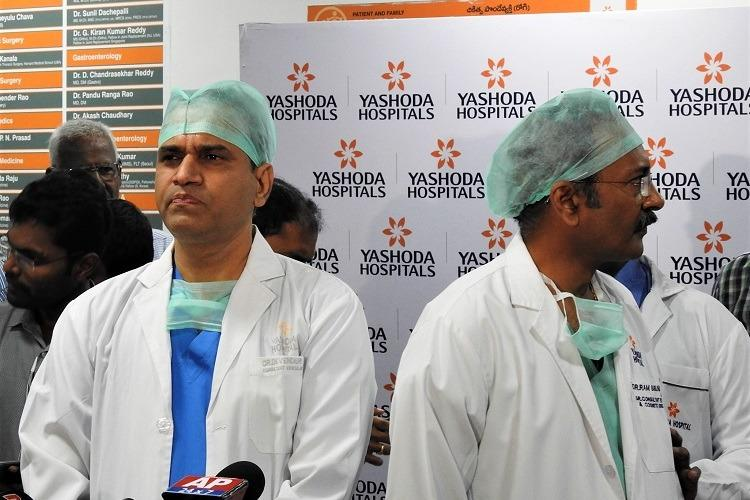 Madhavis health improving might be shifted out of ICU Hyd hospital