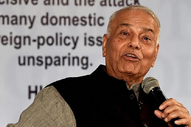 Lack of jobs will be major issue in next Lok Sabha polls Yashwant Sinha