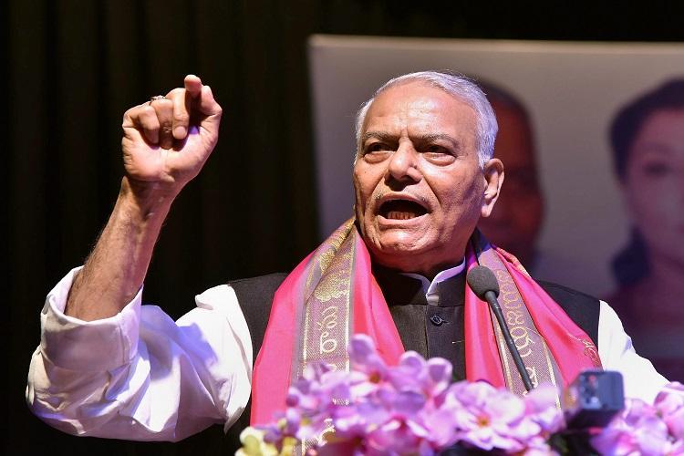 Prevailing atmosphere far worse than 1975 Emergency Yashwant Sinha