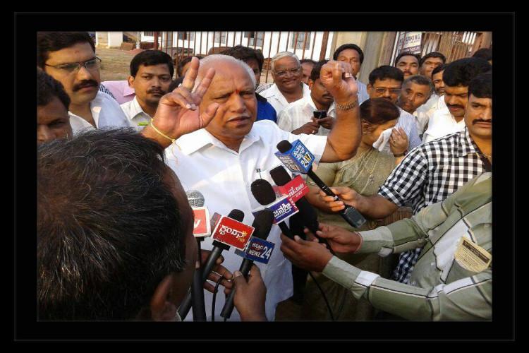 Is Yeddyurappa warning against repeating Bihar mistake in Karnataka
