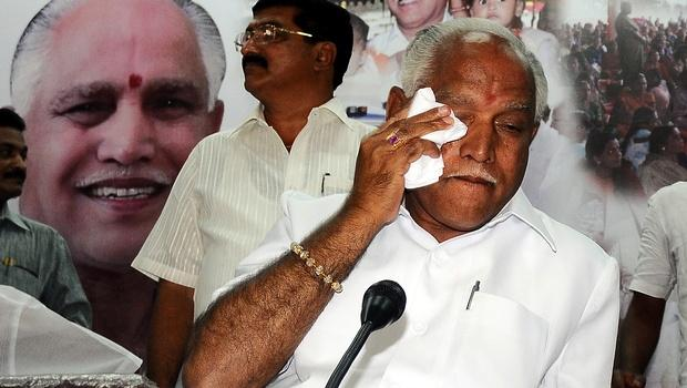Infighting in a disunited Congress BSY takes potshots at Siddaramiah after return