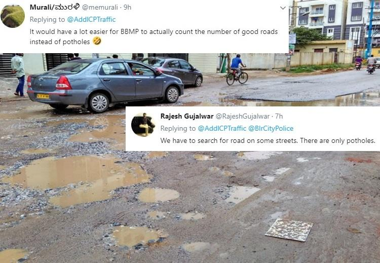 BBMP says Bengaluru has 15935 potholes residents hole-heartedly disagree