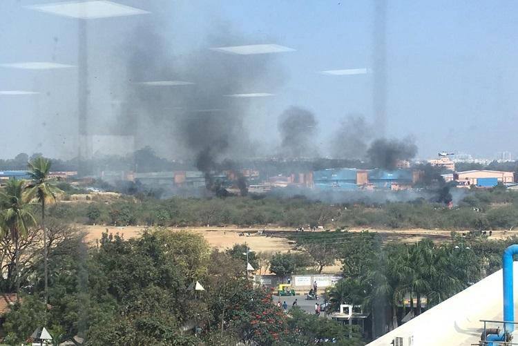 Mirage 2000 fighter jet crashes near HAL airport in Bengaluru both pilots dead