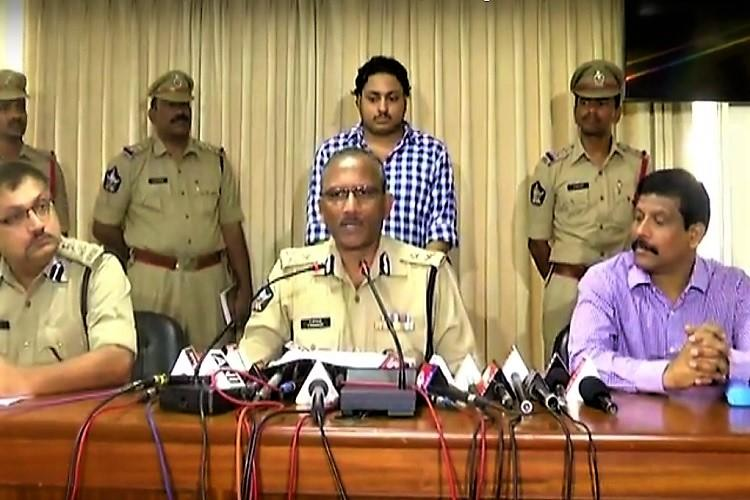 Andhra hawala scam Vizag police say that Rs 800 crore was sent abroad from one account
