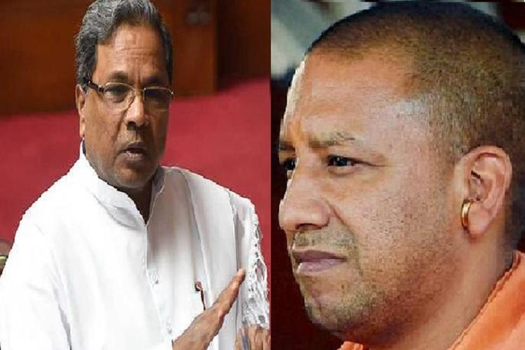As UP CM visits Bluru Twitter war breaks out between CM Siddaramaiah and Yogi