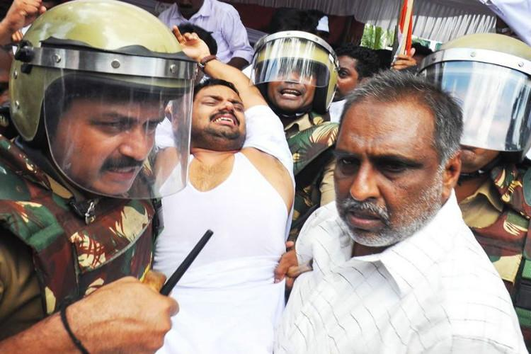 The battle over fee hike in Keralas private medical colleges hartal in Thiruvananthapuram