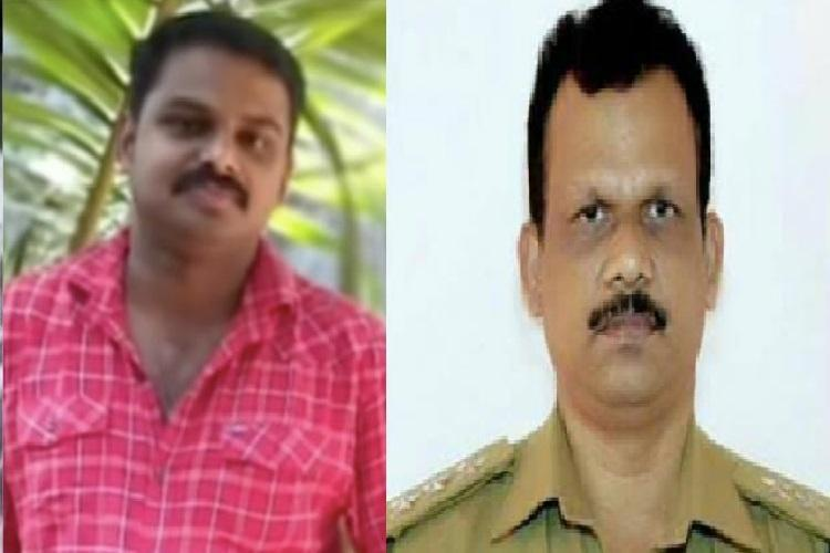 Three days on Kerala cop who pushed a man to death is still on the run