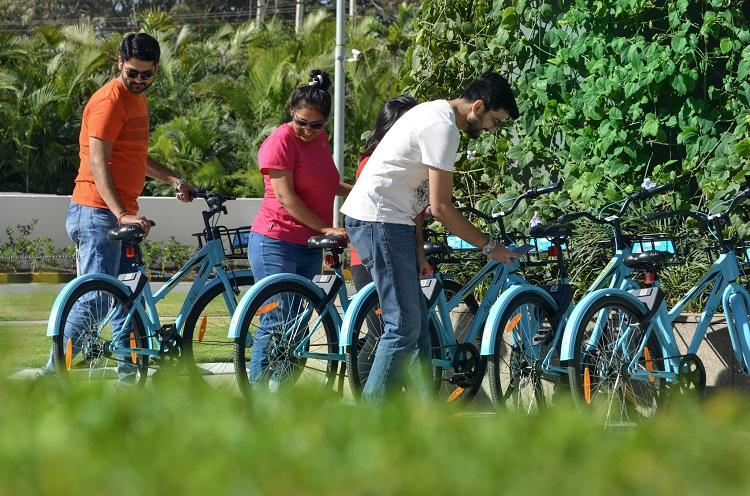 Creating cycle lanes is the focus as Blurus bicycle sharing project takes off