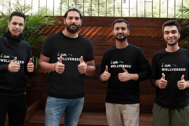 Yuvraj Singh invests in nutrition healthcare startup Wellversed
