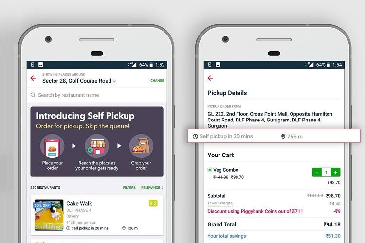 zomato launches option to pick up orders from restaurants the news