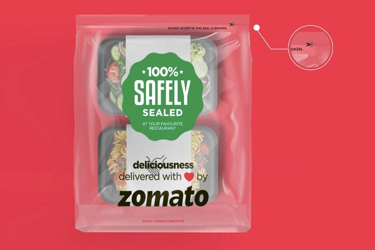 Zomato introduces 100 tamper-proof packaging across 10 cities