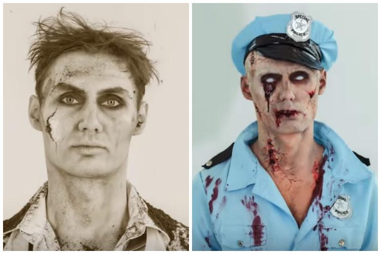 This time-lapse video stunningly captures 100 years of zombie evolution in pop culture