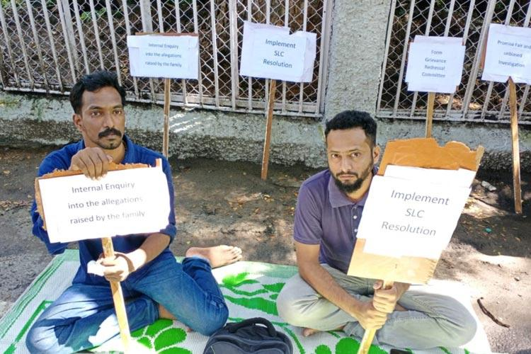 Justice for Fathima Latheef Two students go on indefinite strike at IIT Madras