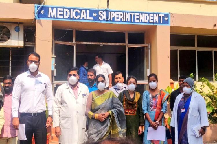 Coronavirus Three passengers from China admitted in Hyderabad hospital