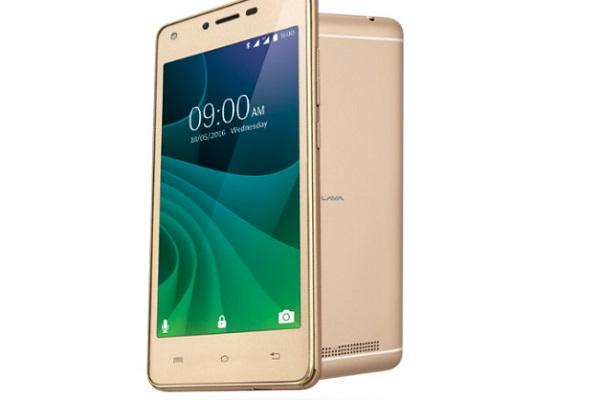 Lava A77 Lower-end phone with front flash and 4G VoLTE support