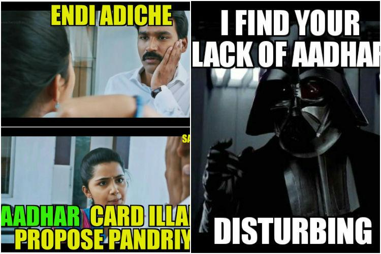 And Aadhaar memes are here LOL all you want
