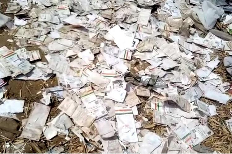 Over 1000 Aadhaar cards found dumped on Tamil Nadu river bank