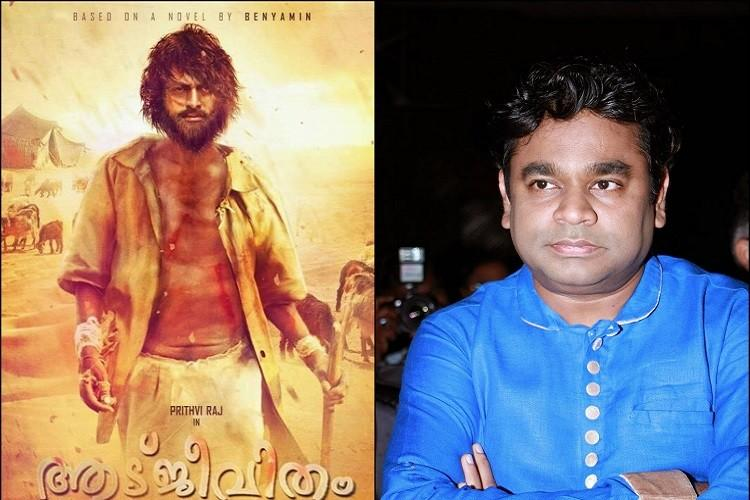 AR Rahman composes two songs for Aadujeevitham