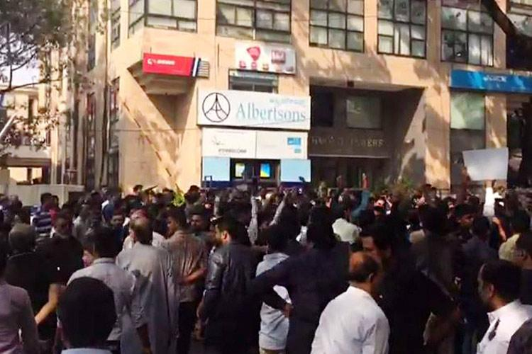 India Todays Bluru office attacked by Shia Muslim group over Rohit Sardanas remark