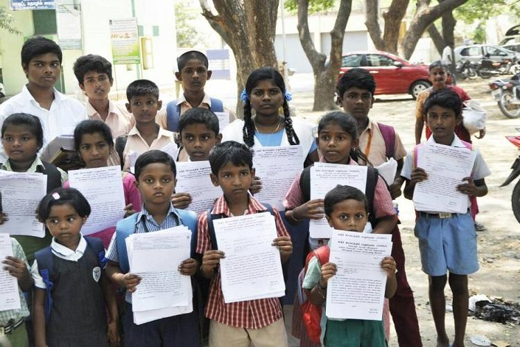 Tamil Nadus justice league of school kids come together to shut down liquor shop