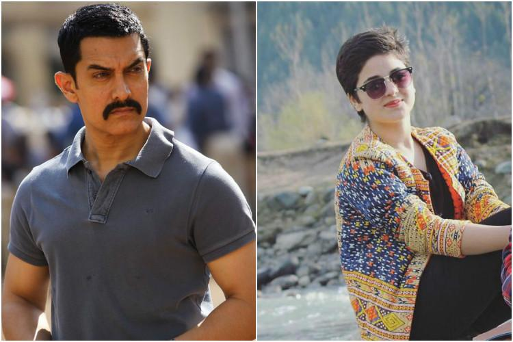 Leave her alone shes just 16 Aamir Khan speaks up for Dangal co-star Zaira Wasim
