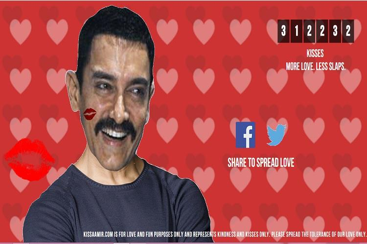 Heres how slaps changed to kisses for Aamir Khan on this website