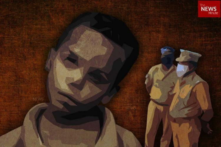 Image for representation of boy who was caught by the police