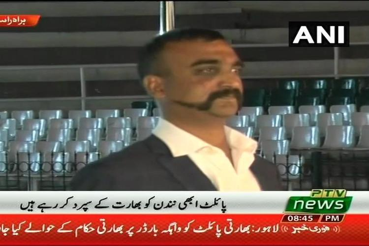 IAF Wing Commander Abhinandan returns home to a heros welcome