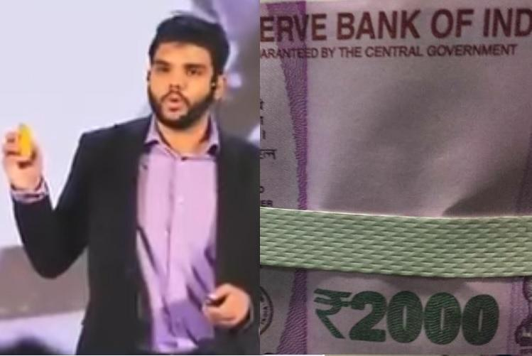 Make in India star hailed by PM Modi caught duping people with fake Rs 2000 notes