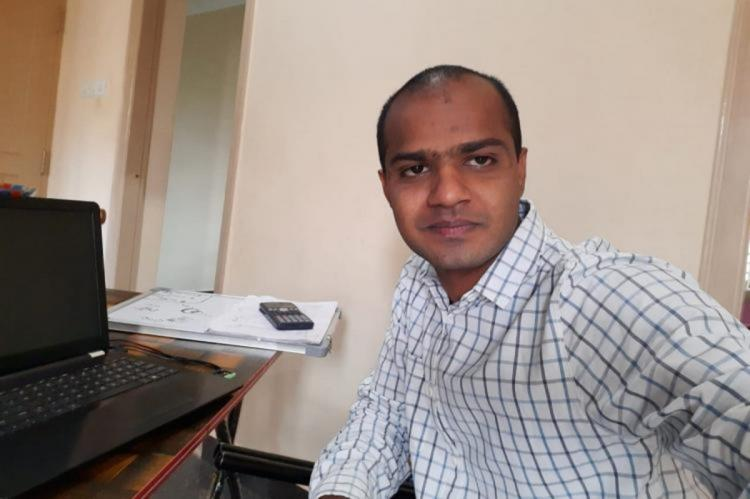 Abhishek Reddy Gulla the 26-year old scientific officer had been off duty since September 17