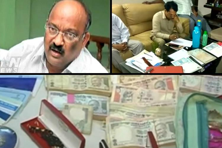 ACB arrests top Andhra official for owning illegal assets worth several crore rupees