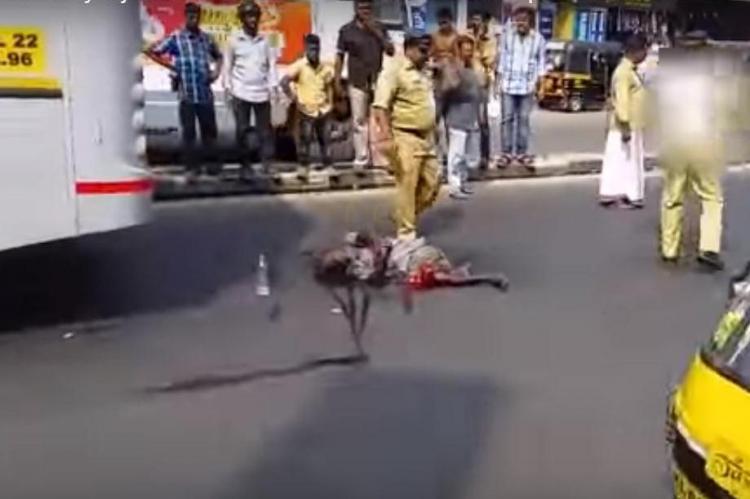 Man left bleeding on road for half hour Thiruvananthapuram cops say they were helpless