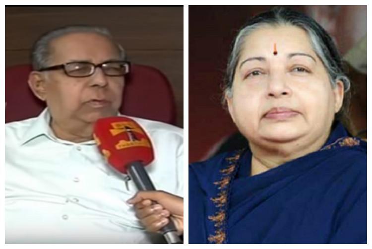 Cant keep re-educating Karnatakas locus standi is proven BV Acharya reacts to Jayalalithaa petition