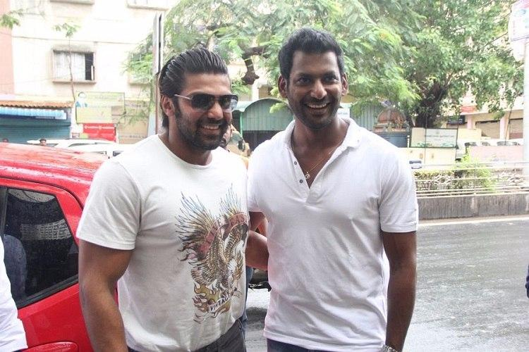 Not ready to play an antagonist now Arya opts out of Vishal-starrer Irumbu Thirai