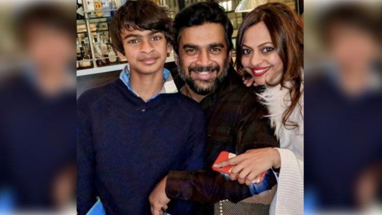 Actor R Madhavans son wins bronze medal for India at international swim meet