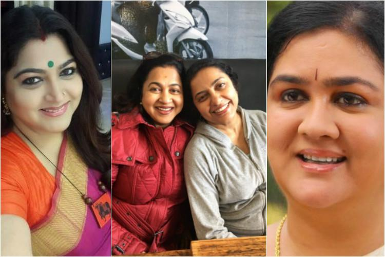 Khushbu Radhika Urvashi and Suhasini These 80s heroines are getting together for a new film
