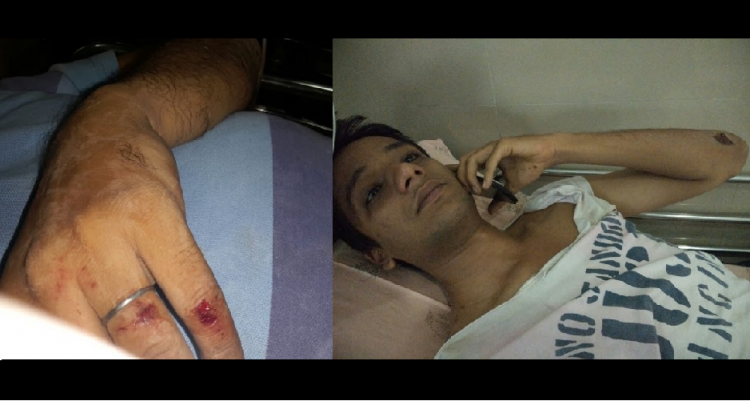 In Bengaluru Chased and attacked by labourers for protecting his niece from harassment