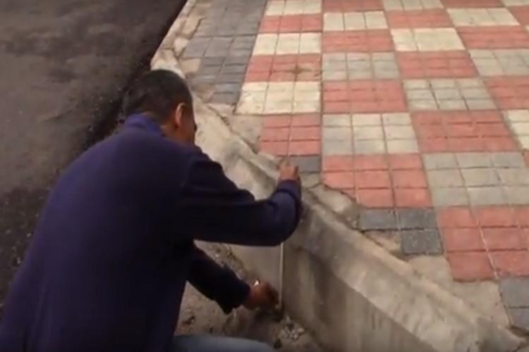 Meet the Hyderabad man measuring footpaths to throw spotlight on road safety