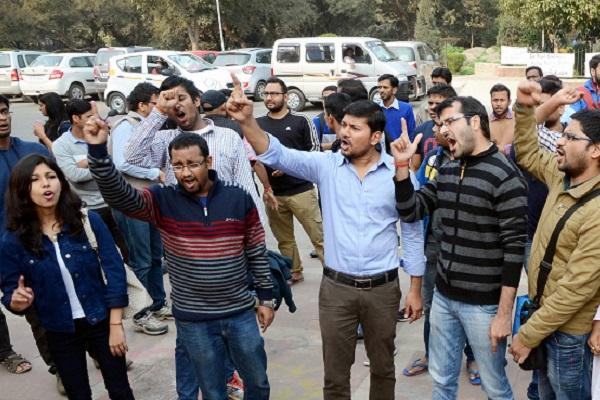 JNU row VC Jagdesh Kumar appeals to students to call off protests citing safety concern