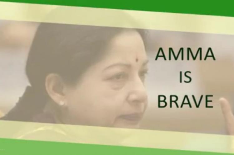 AIADMKs social media war cry on Vijayadashami Two short videos on Facebook