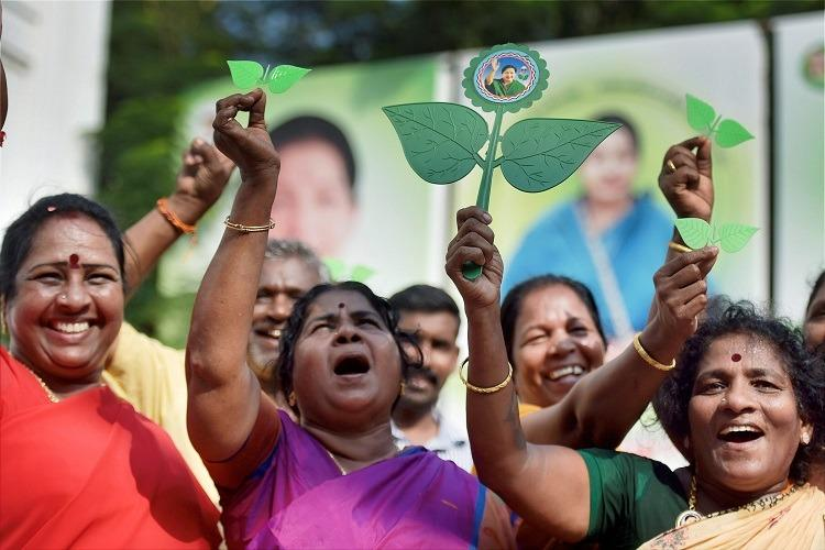 A historic two leaves territory How RK Nagar has voted in past polls